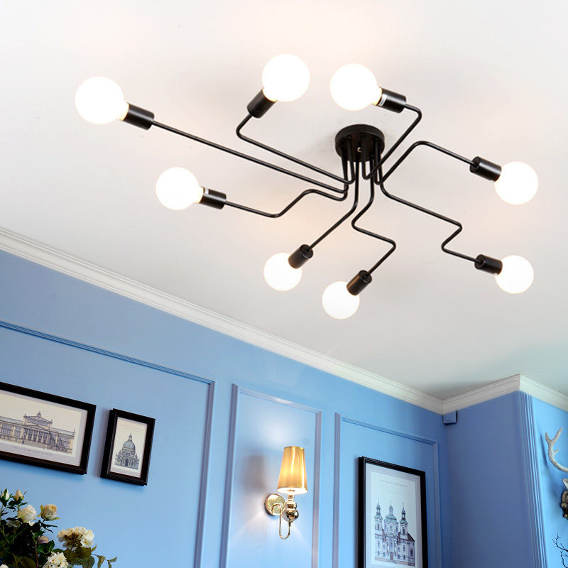 Led 천장 조명 luminaria led 천장 조명 빈티지 산업 로프트 홈 조명기구 lamparas de techo-에서천장 조명부터 등 & 조명 의