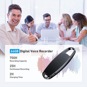 Image 5 - 25H Long Battery Life 16G 64G 128GB Digital Voice Recorder Professional Mini Dictaphone MP3 Audio Recording for Class Lecture