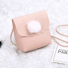 purses and handbags Shoulder Bag Small Side Purse 2018 Mini Clutch with fuzzy ball designer bags famous brand women