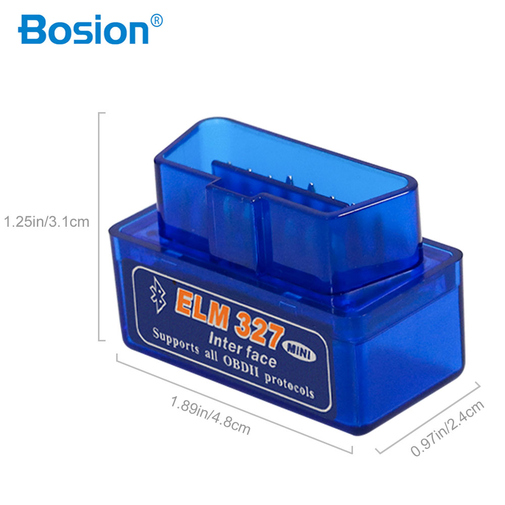 Elm327 V2.1 Bluetooth OBD2 Scanner Diagnostic Car Elm327 <font><b>2</b></font>.1 OBD <font><b>2</b></font> Elm <font><b>327</b></font> Car Diagnostic Tool ODB2 Auto Scan Adapter image