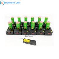 12 pcs cold pyrotechnics firing system fireworks remote control machine