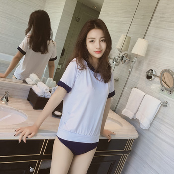 Erotic cosplay sexy student uniforms conjoined student uniforms cheerleading clothing sex women baseball uniform sailor lingerie 2018 women s underwear set sexy uniforms sexy nurses uniforms temptation adult product high end lace ladies cosplay sex game