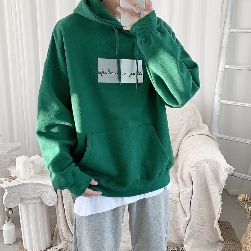 Privathinker Autumn Graphic Men's Hoodies 2020 Men Oversized Hooded Pullovers Korean Man Casual Sweatshirts Plus Size 5XL