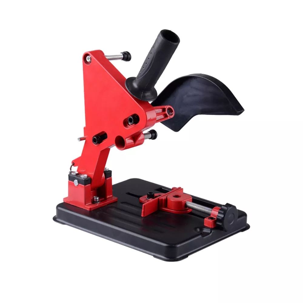 Free Ship Angle Grinder Stand Angle Grinder Bracket Holder Support For 100-125 Angle Grinder DIY Cutting Stand Power Tools