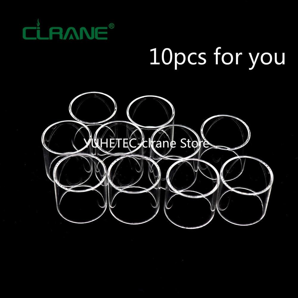 10pcs clrane 2ML Glass Tank for Joyetech Exceed D19 Atomizer