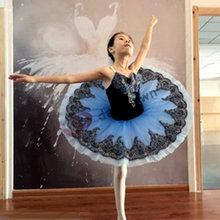 Профессиональная балетная юбка пачка для маленьких девочек и