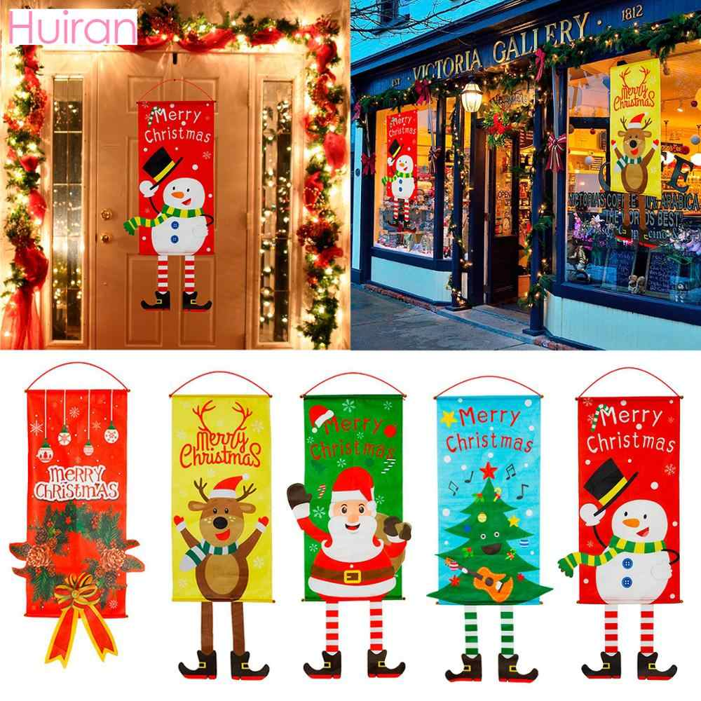 Garland Merry Christmas Decor for Home Cristmas Decor Navidad 2019 Christma Ornaments Christmas Xmas Outdoor Happy New Year 2020
