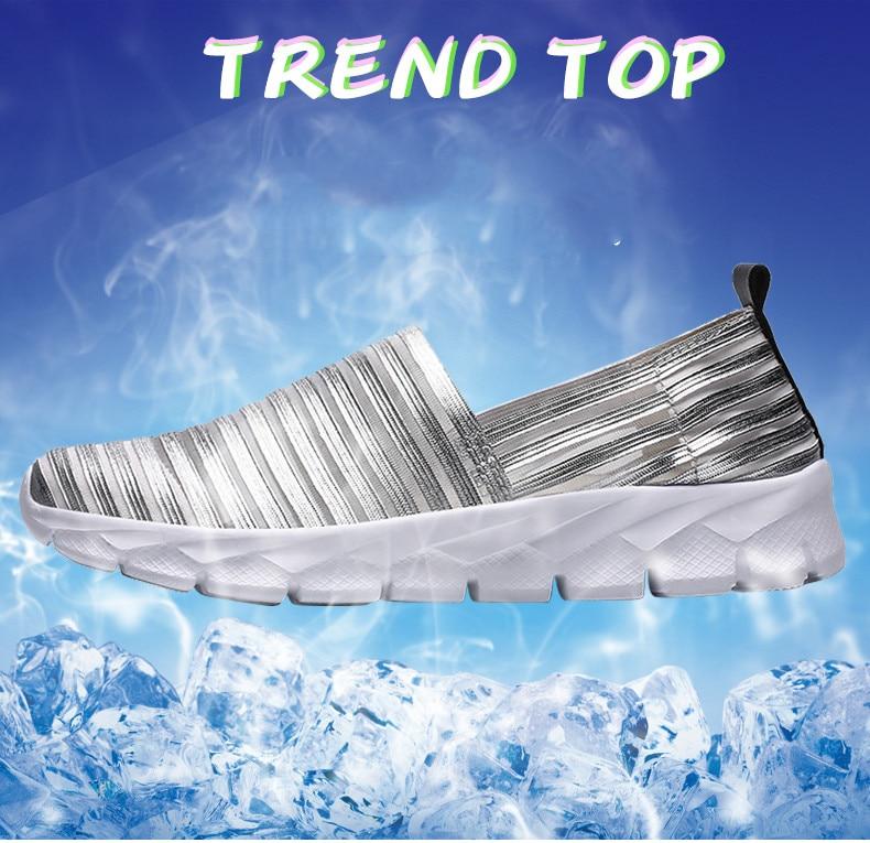 Women Flats Shoes Woman Loafers Slip-ons Platform Ballet Sneakers (15)