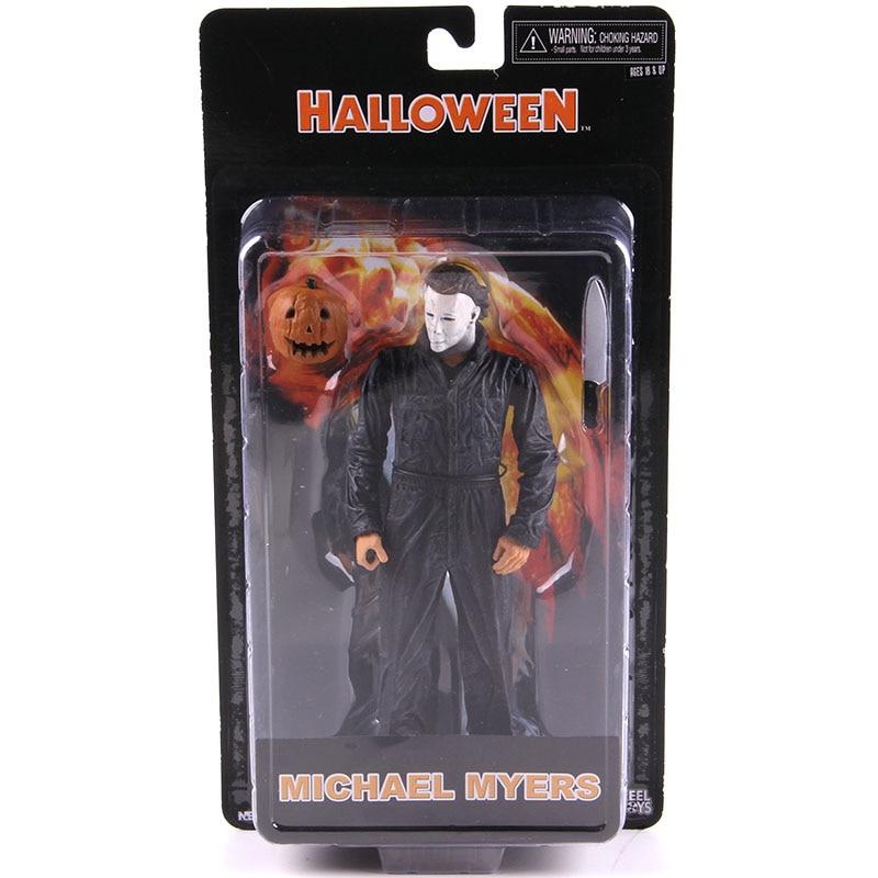 NECA Halloween MichaelMyers PVC action figure toys Michael Myers Horror Movie Action Figures Collectible Model Toys kid gift
