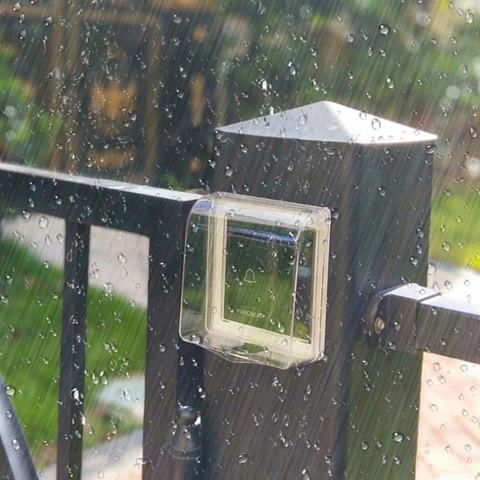 Heavy Rain Universal Protective Cover Door Bell Waterproof Cover For Wireless DoorBell Chime With Launcher Screw Double-side Tap Pakistan