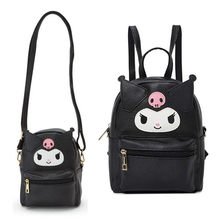 Cute My Melody Cinnamoroll Kuromi PU Leather Shoulder Messenger Bag Small Back Pack Crossbody Bags for Women Girls Sling Bag(China)