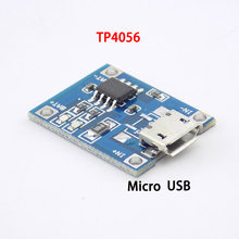 5pcs TP4056 Micro USB 5V 1A 18650 Module Charging Board Functions Li-ion Lithium Battery Charger For Arduino Diy Kit(China)