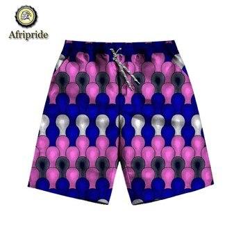 2019 الصيف السراويل الأفريقية نمط جديد أزياء الساخن أنقرة النسيج مثير عارضة السراويل طباعة الشمع الباتيك AFRIPRIDE S1921001 1