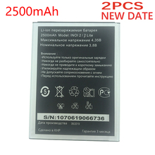 NEW Original 2PCS 2500mAh Battery For INOI 2 Lite INOI2 Lite Phone In Stock Latest Produce High quality battery+Tracking number brand new original 2 mbi150u4a 120 2 mbi150ua 120 japan module quality goods from stock