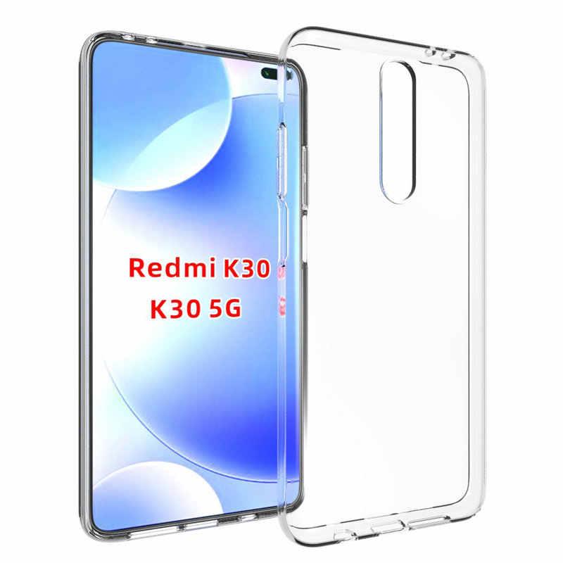 ซิลิคอนโปร่งใสสำหรับ Xiaomi Redmi K30 5G สำหรับ Xiaomi Mi 9T PRO 6GB 64GB 8GB 128GB 256GB ธรรมชาตินุ่มฝาครอบโทรศัพท์>