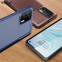 For Huawei P40 Case Shockproof Armor Rubber Soft Silicone Cover Phone Case For Huawei P40 Protective Phone Bumper For Huawei P40 for cover huawei p40 case huawei p40 coque protective stylish smooth skin pc matte ultra thin phone case for huawei p40 cover