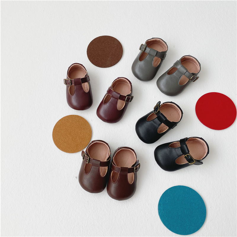 Baby Shoes Newborn Infant Boy Girl First Walkers Spring Autumn Anti-slip Soft Leanther Toddler Crib Shoes Moccasins