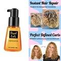 Усилитель для волос TSLM2, сыворотка с супер изгибом, восстанавливает поврежденные, против выпадения волос, марокканское масло, для гладкой и ...