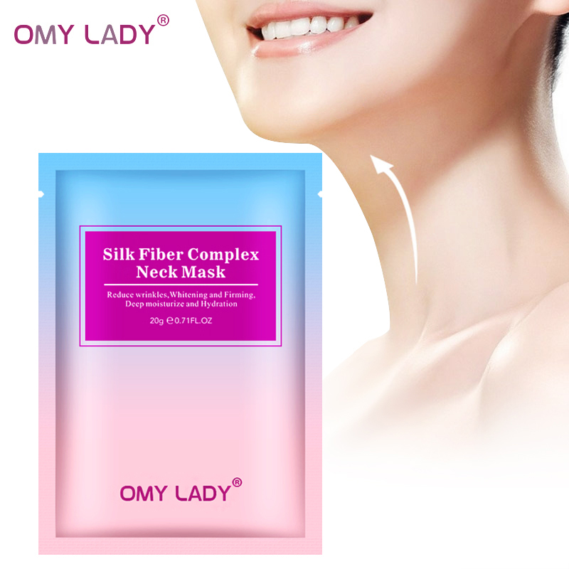 OMYLADY Neck mask Cream  Firming skin Anti Wrinkle Anti-aging Whitening Moisturizing Hyaluronic acid Skin Care 20g