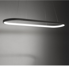 White Led Office Pendant Light Minimalist Modern Simple Rectangular Meeting Room Lighting Lamp Office Highlight Fixture