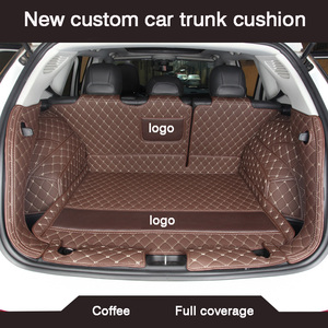 Image 5 - HLFNTF New custom car trunk cushion for peugeot 308 206 508 5008 301 2008 307 207 3008 2012 waterproof car accessories