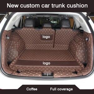 Image 5 - HLFNTF новая подушка на багажник автомобиля для peugeot 308 206 508 5008 301 2008 307 207 3008 2012, водонепроницаемые автомобильные аксессуары