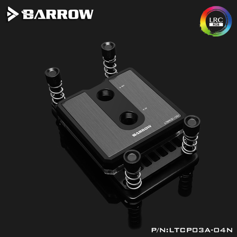 Image 3 - Barrow CPU Water Block For AMD AM3 AM4 Platform Dedicated LRC2.0  5V 3Pin High Density Jetting Micro Waterway LTCB03A 04NFans