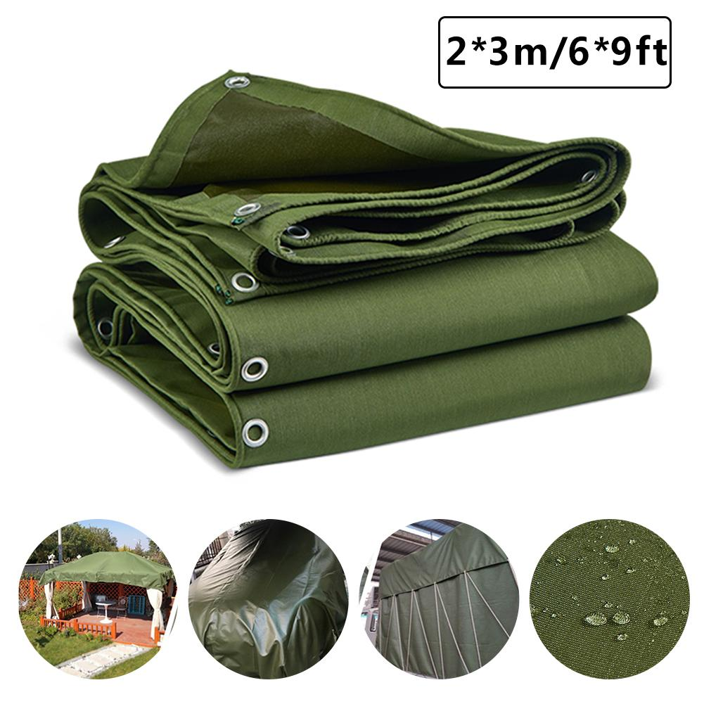 Shade Cloth  Tarps Waterproof Ground Tent Trailer Cover Tarpaulin Wear-resistant Cover With Organic Silicon Coating For Boat RV