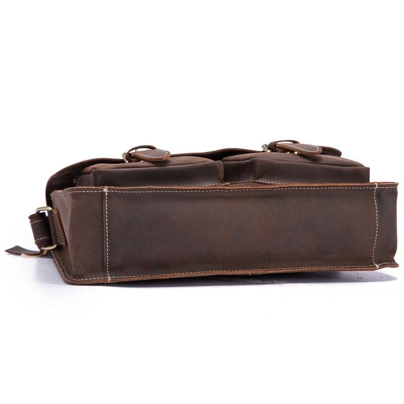 genuíno para homens sacos do mensageiro aleta