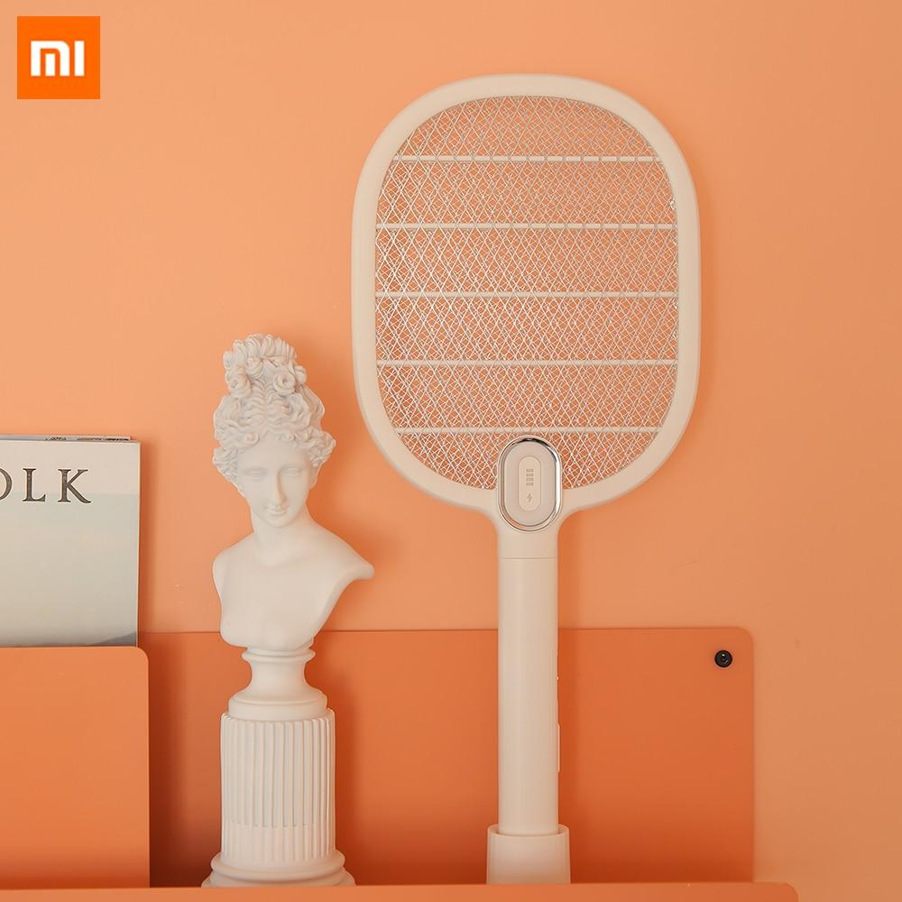 Xiaomi 3 слойная сетка электрическая Москитная щатетка перезаряжаемая светодиодная электрическая насекомая Жук муха москитный диспеллер убийца ракетка SmartHome|Смарт-гаджеты|   | АлиЭкспресс