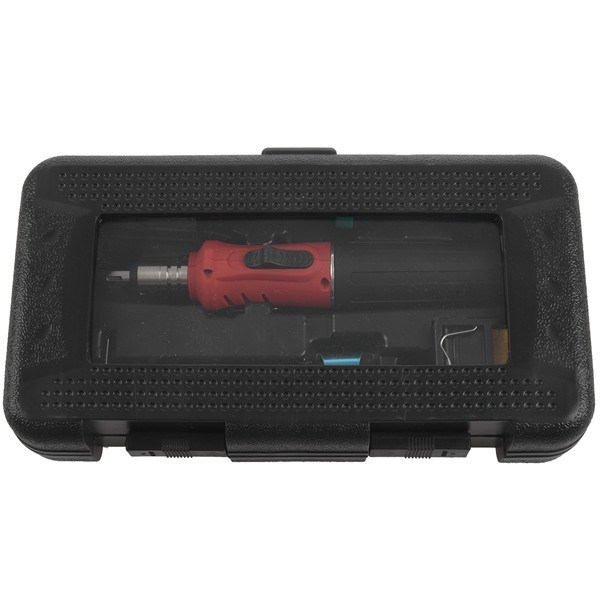 HS-1115K Professional Butane Gas Soldering Iron Kit Welding Kit Torch Convenient and fashionable welding gun Compact size 5