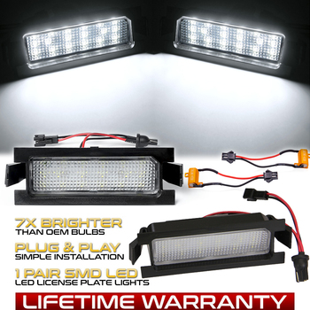 2Pcs Error Free LED License plate light For Hyundai I30 CW GD 5D Accent Elantra GT Kia Pro Ceed 2 Car tail number plate lamps gartt 2pcs cw page 3