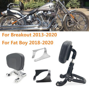 Driver Passenger-Backrest Harley-Models Motorcycle Fat Boy for Breakout Multi-Purpose