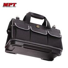 Grande capacité sac à outils matériel organisateur bandoulière ceinture hommes sacs de voyage clé à outils électricien charpentier sac à main sac à dos