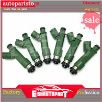 6pcs 700cc Fuel Injector Nozzle For Toyota Camry Corolla Nissan 1JZGTE 2JZGTE RB20DET OEM:1001 87K80 100187K80 1001 87K80