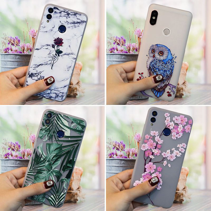 For Redmi 7 7A <font><b>Case</b></font> 3D For Xiaomi Redmi Note 7 6 5 PRO Redmi 5 Plus <font><b>Case</b></font> <font><b>Silicone</b></font> Cute Cartoon For <font><b>Xiomi</b></font> <font><b>Mi</b></font> A2 <font><b>8</b></font> <font><b>Lite</b></font> SE A1 <font><b>Case</b></font> image