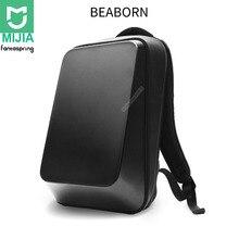 Xiaomi Fantaspring BEABORN 18L sac à dos à coque rigide 15.6 pouces sac dordinateur portable 180 ° ouverture fermeture sac à dos dépaule pour voyage en plein air