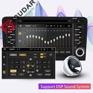 Image 3 - Isudar 2 דין אוטומטי רדיו אנדרואיד 9 לאאודי A3 8 P/A3 8P1 3 דלת Hatchback/ s3 8 P/RS3 Sportback רכב מולטימדיה נגן וידאו GPS DVR