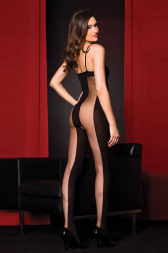 Hot Sell Fashion Babydoll Lingerie Bodystocking Bodysuits Black Fishnet Bodysuit Women's Pantyhose Sexy Erotic Suit