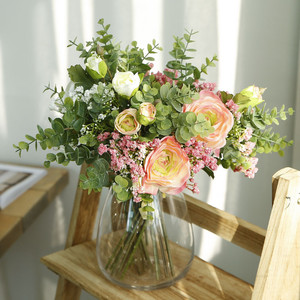 1 Bouquet Artificial Flower Gypsophila Holding Flowers for Wedding Decorations Home Party Table Decor Fall Decor Fake Flower