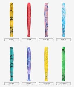Image 5 - Penbbs 323 قلم الخط الصين الاكريليك اللون الكبار هدية صندوق تدفق الضغط السلبي فراغ F بنك الاستثمار القومي شفاف Moonman