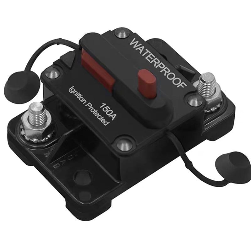60A-300A AMP Circuit Breaker Fuse Reset 12-48V DC Car Boat Auto Waterproof