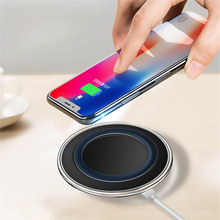 5V/2A QI Wireless Charger Charge Pad with micro usb cable For Samsung Galaxy S7 S6 EDGE S8 S9 S10 Plus for Iphone 8 X XS MAX XR цена 2017
