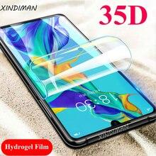 XINDIMAN 35D Front+back hydrogel film for huawei P30 P30pro 2pcs screen protector P30lite Psmart Psmartz 2019 Film