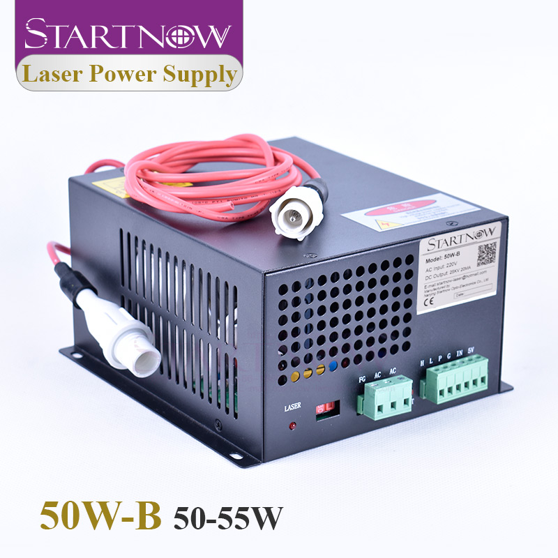 Startnow 50W-B CO2 Laser Power Supply 50W 220V 110V 45W 55W PUS MYJG-50 For CO2 Laser Tube Marking Machine Engraving Spare Parts