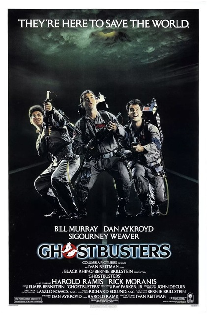 1984 Ghostbusters Perfect Catchphrase Movie Film Classic Vintage