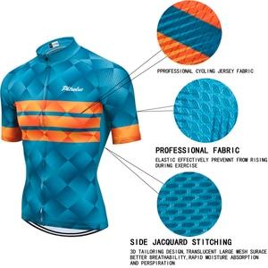 Image 4 - Phtxolue Cycling Clothing Men Cycling Set Bike Clothing Breathable Anti UV Bicycle Wear/Short Sleeve Cycling Jersey Sets