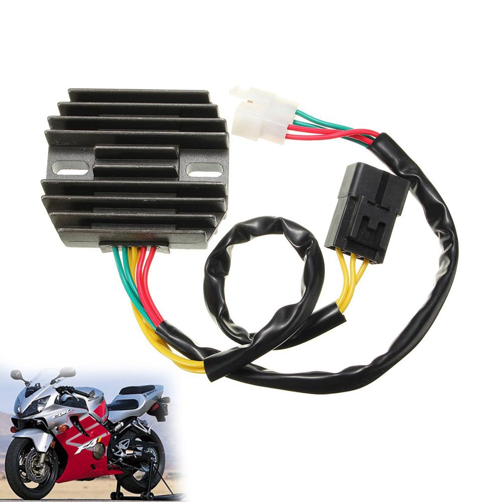 Motorcycle 12V Voltage Regulator Rectifier For <font><b>Honda</b></font> STREET BIKE CBR600F4 <font><b>CBR600F4i</b></font> 2001-2006 Motorbike <font><b>Parts</b></font> image