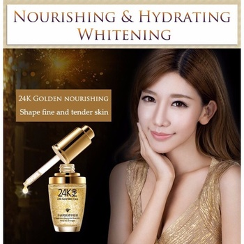 woman BIOAQUA 24K Gold Whitening  5
