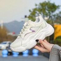 Модные женские кроссовки; яркие мягкие дышащие кроссовки; брендовая дизайнерская Повседневная обувь; женская обувь для отдыха; Zapatillas на пло...